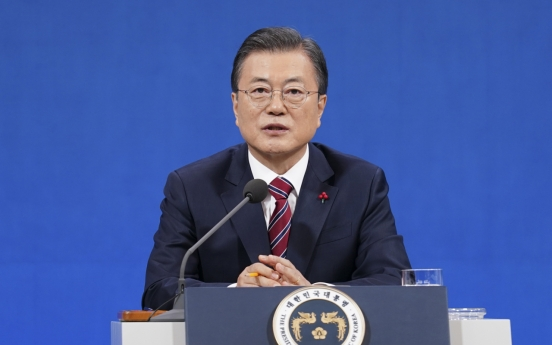 Moon rules out immediate pardons for ex-presidents, divides parties