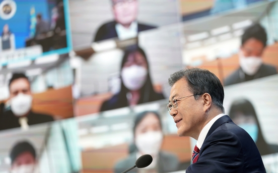 Moon hopes Biden will turn tide of talks with NK