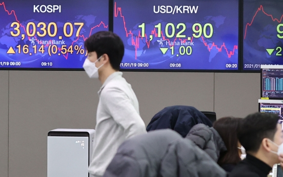 Seoul stocks open higher on auto gains