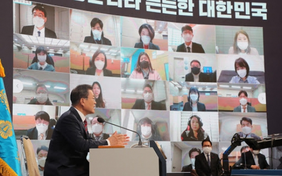 Moon to join WEF's virtual meeting next week
