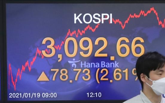 Seoul stocks rebound over 2% on auto gains