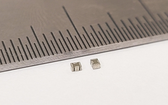 Samsung introduces thinner, more advanced capacitors for 5G phones