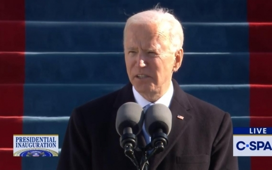 Biden says will 'repair alliance,' lead world by power of example
