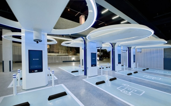 Hyundai Motor opens ultra-fast EV charging station in Seoul