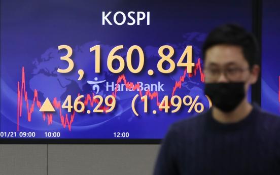 Seoul stocks hit record high on optimism for Biden presidency