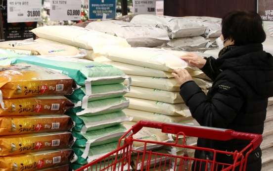S. Korea sets official tariff on rice at 513%