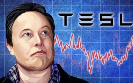 S. Korean retail investors' Tesla holdings top $10b