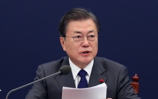 Moon's approval rating jumps to 43% after New Year's address: Realmeter