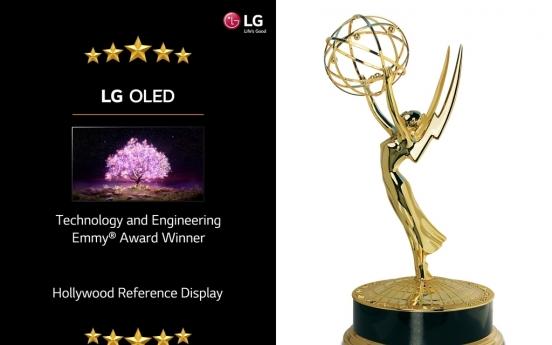 LG Electronics wins prestigious TV tech award