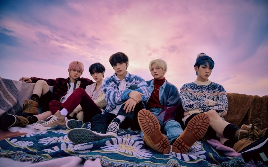 TXT tops Japan's Oricon weekly albums charts with 1st Japanese