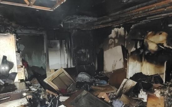 같은 집에서 6시간 간격 두 차례 불…심야 150명 대피