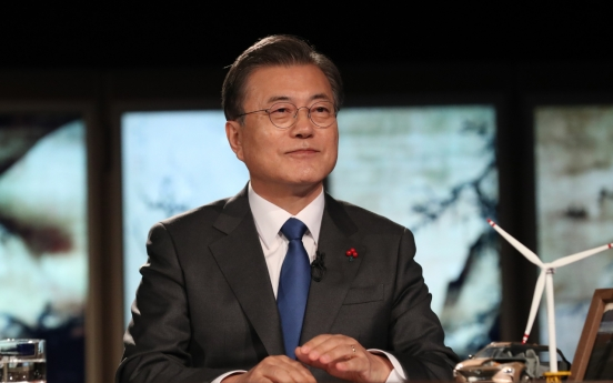 Moon vows no let-up in fight against corruption