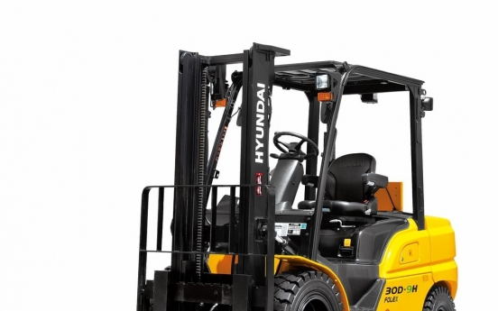 Hyundai Construction Equipment to expand global sales of forklifts