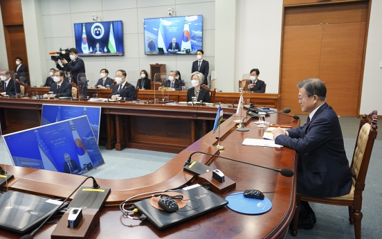 South Korea, Uzbekistan agree to begin free trade talks