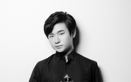 Violinist Kim Dong-hyun to perform at Kumho Instrument Bank series recital
