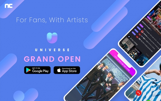 NCSoft's K-pop platform Universe kicks off globally