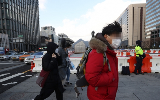 1 missing, 2 injured as high winds sweep S. Korea