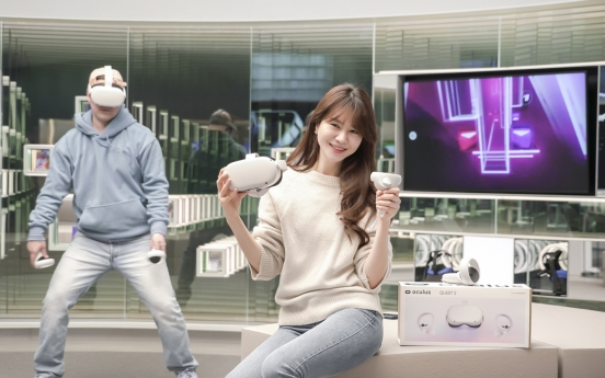 SK Telecom to sell Facebook's VR device Oculus Quest 2 in S. Korea