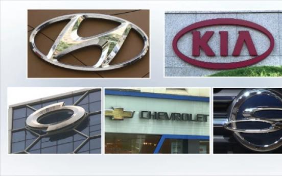 Carmakers' Jan. sales rise 4.8% on SUVs