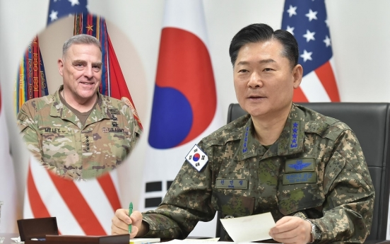 Military chiefs of S. Korea, US agree to make 'visible progress' on OPCON transition