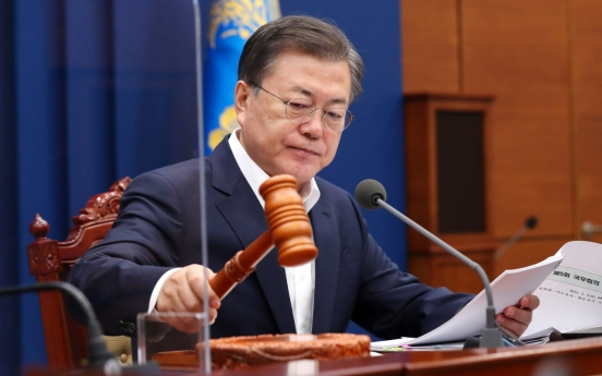 Moon calls for policy focus on inclusive recovery from coronavirus crisis
