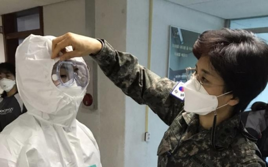 2 Air Force officers, Army soldier test positive for virus