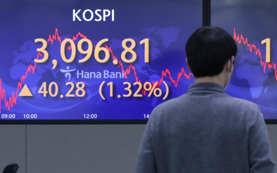 Seoul stocks up for 2nd day amid US rallies, eased China concerns