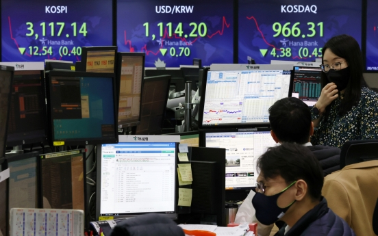 Seoul stocks open lower on tech, pharmaceutical losses