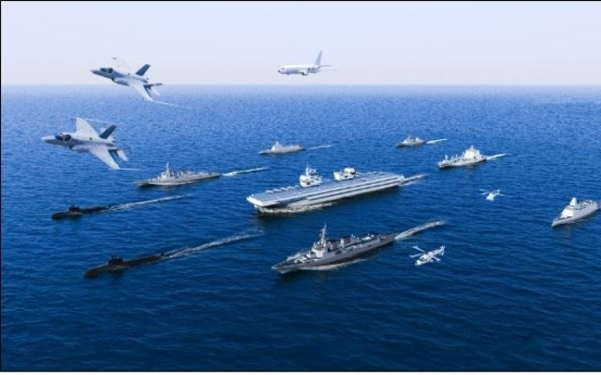 Navy chief stresses need to secure light aircraft carrier for national interest