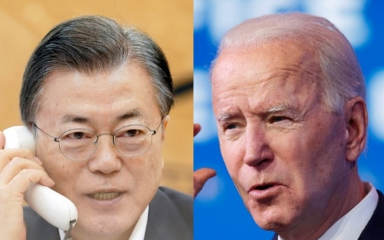 Moon, Biden signal fresh restart of peace process on Korean Peninsula