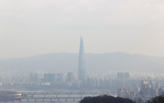 Ultrafine dust density falls to lowest for January