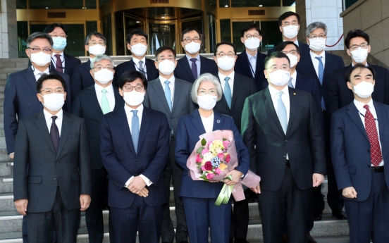 FM Kang leaves office after years of daunting diplomatic tasks