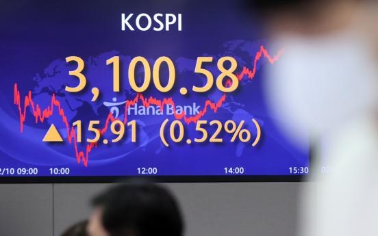 Seoul stocks rebound on tech, auto gains