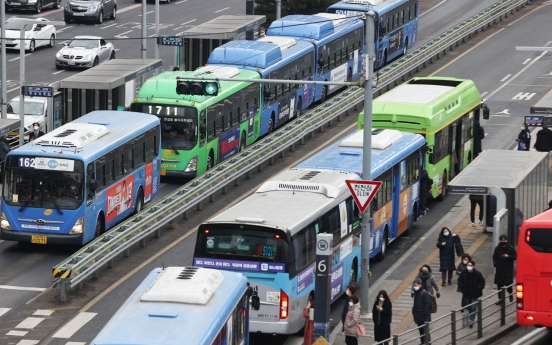 Seoul's public transport ridership fell sharply last year due to COVID-19: data
