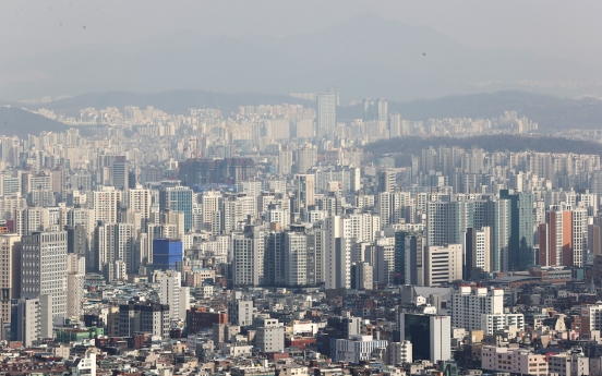 S. Korea's property tax-to-GDP 3rd highest among OECD nations: data