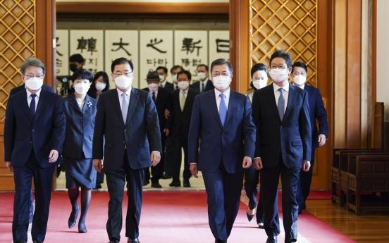 Moon says S. Korea-US alliance crucial for Korea peace process