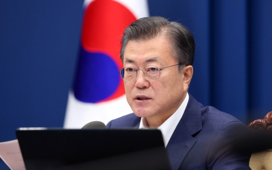 Moon urges emergency steps to curb pandemic-linked job losses