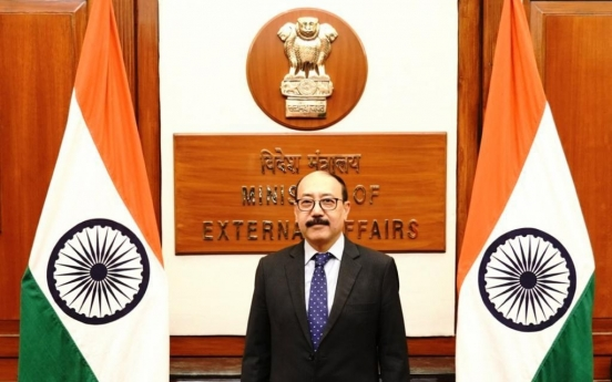 India's foreign secretary voices hope for S. Korea to join New Delhi-initiated bodies to fight climate change