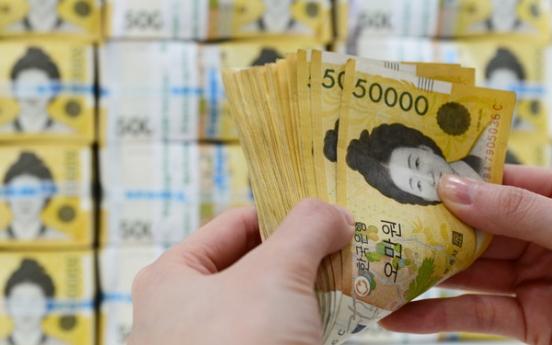 S. Korea's money supply sees record gain