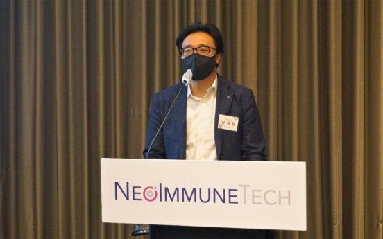 US-based NeoImmuneTech eyes W96b IPO in Korea