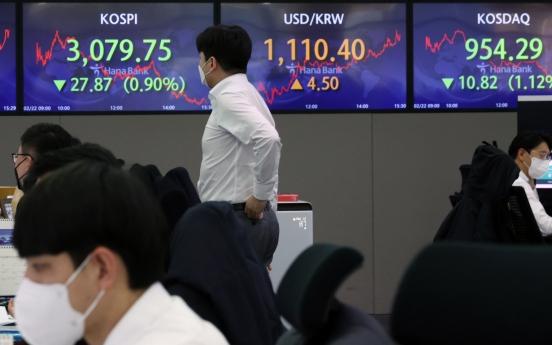 Seoul stocks retreat despite sound economic data