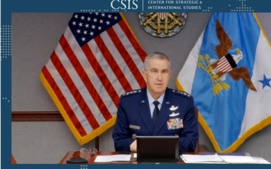 US missile defense 'clearly focused' on N. Korea: Gen. Hyten