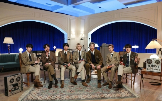 BTS performs 'BE,' surprise Coldplay cover on 'MTV Unplugged'