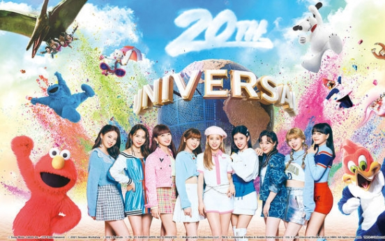[Today's K-pop] NiziU collaborates with Universal Studios Japan