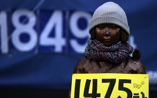 Can international court resolve 'comfort women' issue?