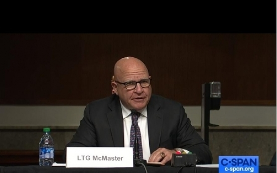 US must use maximum pressure to convince N. Korea it is safer without nukes: McMaster