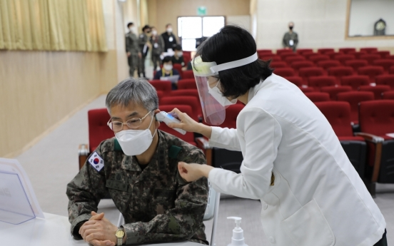 Military begins administering COVID-19 vaccine to its members