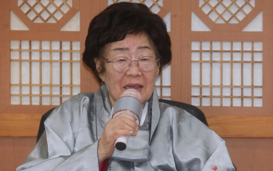 'Comfort woman' requests meeting with President Moon to take sex slavery issue to ICJ