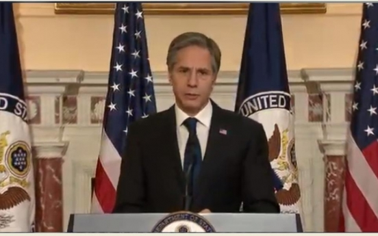 Blinken lays out 'most urgent' priorities for US, leaves out N. Korea