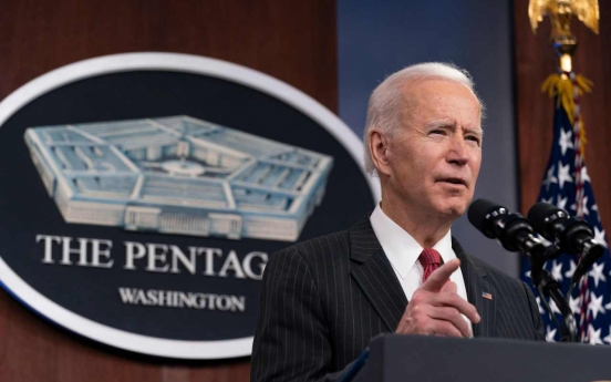 Biden says will empower diplomats to reduce threat from N. Korea